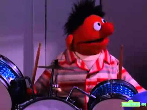 Sesame Street Ernie Learns to Stop and Think