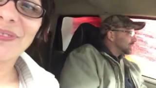 Car wash blowjob