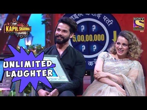 Xxx Mp4 Shahid Kangana Laugh Endlessly The Kapil Sharma Show 3gp Sex