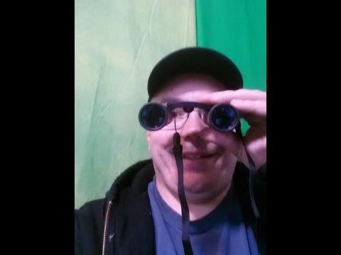 #PortableBinoculars Binoculars with 10x25 Portable High Definition and Blue Film by Merytes