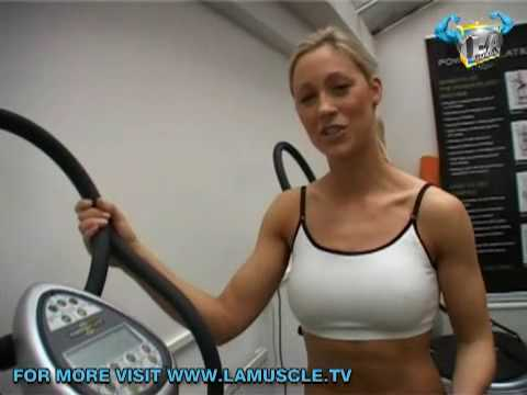 Sexiest Gladiator Caroline Pearce Shares Celebs Best Kept Work Out Secret The Power Plate