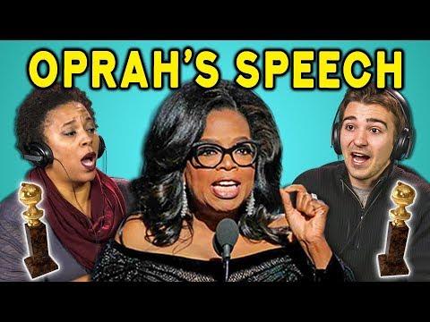 Xxx Mp4 ADULTS REACT TO TimesUp Oprah S Speech Golden Globes MeToo 3gp Sex