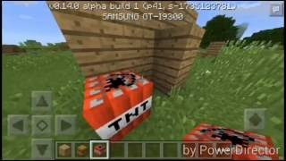 Minecraft PE 0.14.0 Gizli Tuzak Yapımı