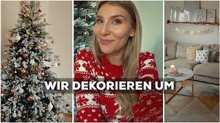 Mein Ehemann und ich dekorieren unsere Wohnung weihnachtlich! 🎅🏻 | AnaJohnson