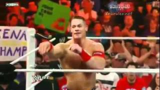 Fan Throws John Cena's Shirt Back To Him
