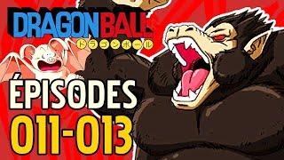 LA 1ère TRANSFORMATION DE GOKŪ ! DRAGON BALL ÉPISODES 011-013 COMPARAISON ANIME VS MANGA #DBREVIEW