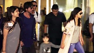 Shahrukh Khan's Son AbRam WALKS OUT With Alia Bhatt At Mumbai Airport