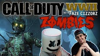 Fighting Zombies with FaZe Cizzors | Gaming With Marshmello