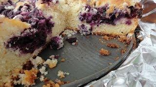 Blueberry Cake - light and moist!