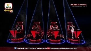 The Voice Cambodia Season2 Top10 blind audition all 4 chairs