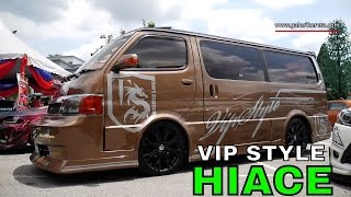 Toyota Hiace Modified Super Custom | Galeri Kereta