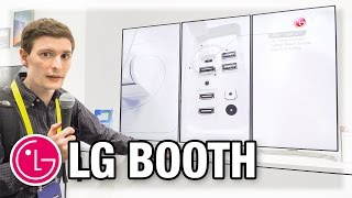 LG Booth - The Awesome, The Good, The Meh (CES 2017)