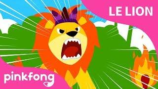[Français] Le Lion | Chansons d'animaux | Pinkfong Chansons pour enfants