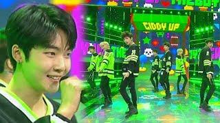 《ADORABLE》 THE BOYZ(더보이즈) - Giddy Up @인기가요 Inkigayo 20180422