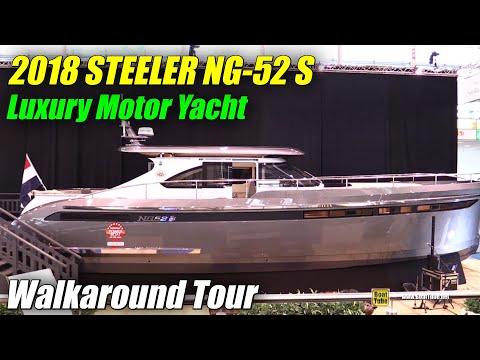 2018 Steeler NG 52 S Luxury Motor Yacht Walkaround 2018 Boot Dusseldorf Boat Show