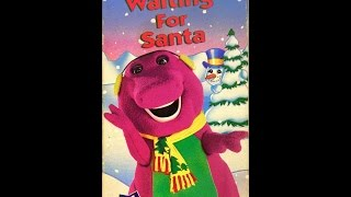 Opening to Barney - Waiting for Santa 1993 VHS