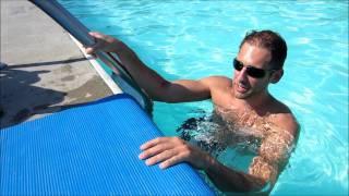 Paraplegic at the Pool
