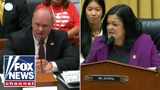 Tom Homan clashes with Dem over detention practices