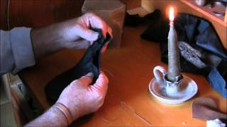 Making A Leather Covered Saddle Flask By Keith H  Burgess  Part Two