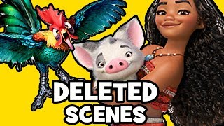 Moana DELETED SCENES, SONGS & Rejected Concepts Explained