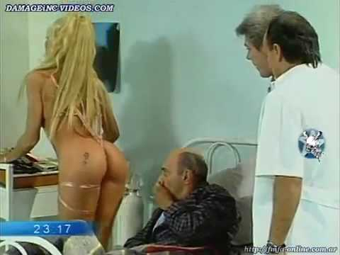 Yanina Zilly con un hilo dental en el orto 480 x 360 .mp4