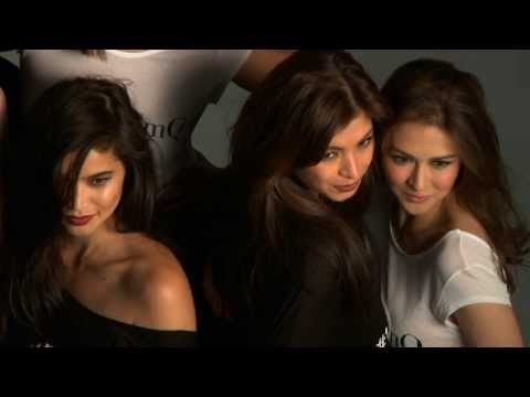 Anne Curtis with Judy Anne Marian Rivera Angel Locsin and Charlene Gonzales