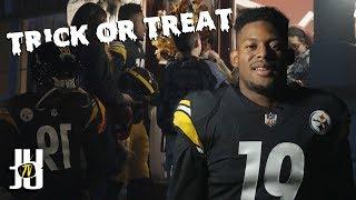 JuJu's Hilarious NFL Halloween Prank!