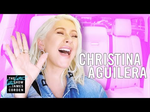 Xxx Mp4 Christina Aguilera Carpool Karaoke Extended Cut 3gp Sex