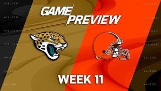 Jacksonville Jaguars vs. Cleveland Browns | NFL Week 11 Game Preview