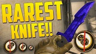 RAREST KNIFE SKIN!? - CS GO Funny Moments Betting