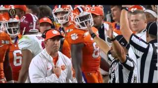 Alabama vs Clemson 2016 highlights