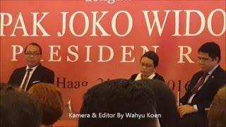 PIDATO Presiden RI Bpk. Joko Widodo di Nederland.Up  2 By Wahyu Koen
