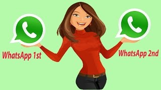 How To Use 2 Whatsapp In Dual Sim Phones Activate Two Whatsapp Account Install 2 WhatsApp In Android