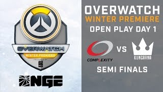 Complexity Gaming vs Kungarna Semi Finals Open Play Day 1 - Overwatch Winter Premiere