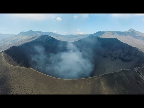 BROMO VOLCANO BY DRONE EPIC