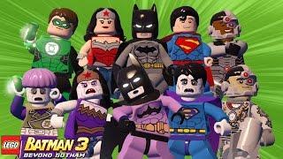 LEGO Batman 3 - Liga da Justiça VS Liga Bizarra | Briga de Herois #107