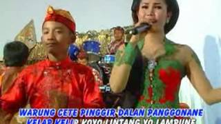 Tayub adi laras - Warung Cete