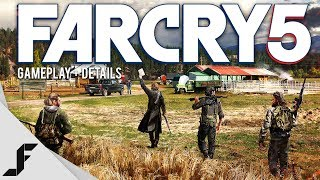 FAR CRY 5 - Gameplay Details!