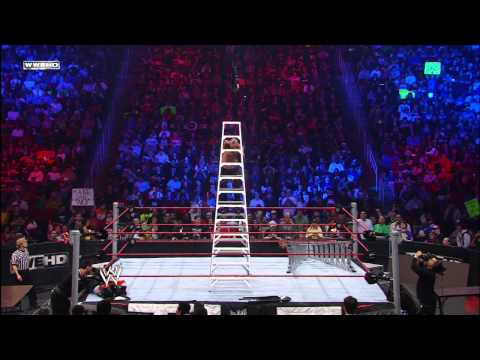 Kane vs. Edge vs. Rey Mysterio vs. Alberto Del Rio - World Heavyweight Championship TLC Match: WWE T