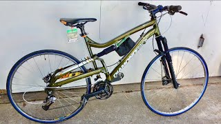 700C Wheels On A Mountain Bike