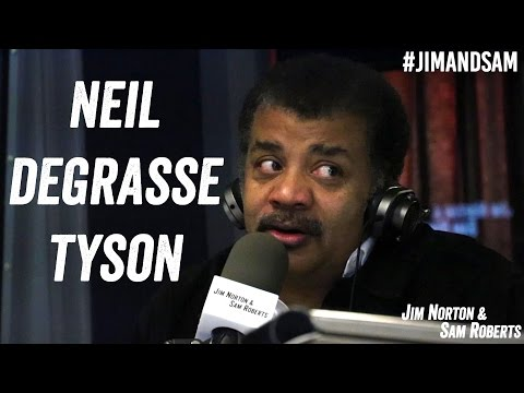 Neil deGrasse Tyson Debating Aliens Time Travel Speed of Light Jim Norton & Sam Roberts