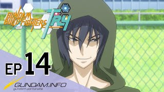 GUNDAM BUILD FIGHTERS TRY-Episode 14: Worthy Rivals (ENG sub)