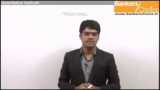 Percentages   Quantitative Aptitude   Bank PO Video Lecture