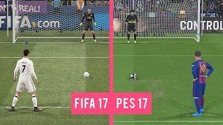 FIFA 17 Vs PES 17: Penalty Kicks