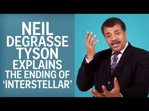 Neil deGrasse Tyson Explains The End Of Interstellar