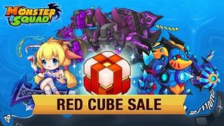 MONSTER SQUAD | RED CUBES | OPENINGS | 600 GEMS