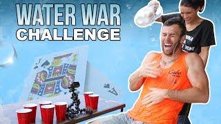 THE WATER WAR CHALLENGE   Brodie & Kelsey