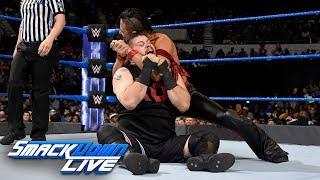 Shinsuke Nakamura vs. Kevin Owens: SmackDown LIVE, Oct. 31, 2017