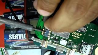 reparacion solucion nokia 111 110 113 test mode , repair