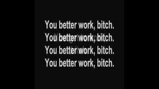 Britney Spears- Work B*tch